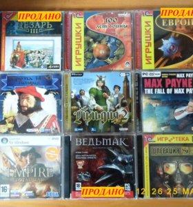 Игры на DVD-дисках