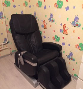 Кресло массажное на пульте управления