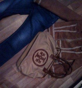 Куртка 42+ сумка