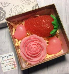 подарок мыло ручной работы handmade love любовь