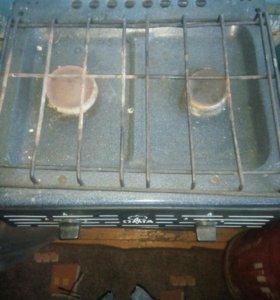 Газовая плита и два балона или обмен на запчасти в