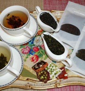 Чай молочный улун и черный