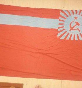 Флаг Грузии СССР.