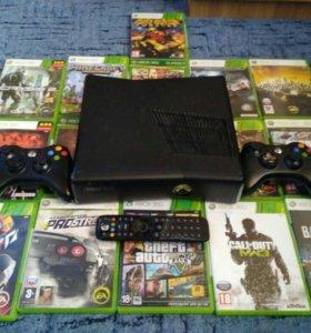 Xbox 360 slim богатая комплектация