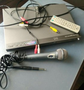 DVD караоке + микрофон