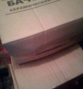 """""""новый унитаз в упаковке с чеком """""""