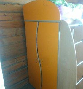 Кровать шкаф для школьника