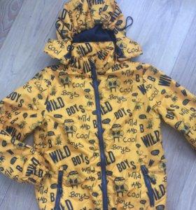 😎Спортивная куртка с принтами от бренда Demix