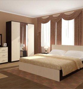 Спальный гарнитур Зиля набор 6 предметов новый тхм
