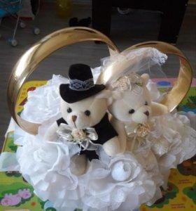 Продам свадебное украшение на машину