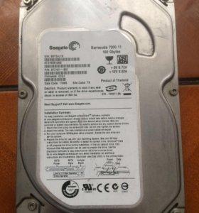 Жёсткий диск seagate 160 gb