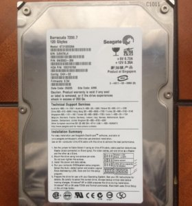 Жёсткий диск seagate 120 gb