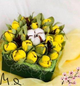 Сладкий подарок на 8 марта