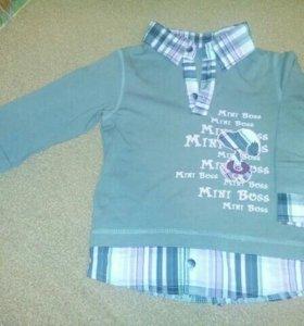 Рубашка модная для мальчика