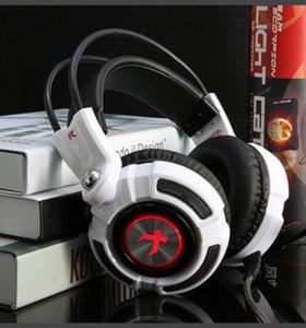 Xiberia K3 USB Игровые наушники