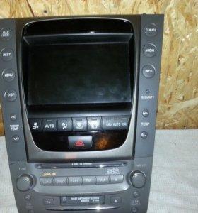 Мультимедиа монитор Gs 300 350 450 460 Lexus Лексу
