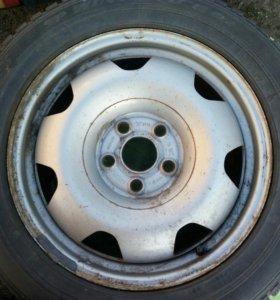 Шины+диски R17 VW Caravelle Multivan T5.235/55R17