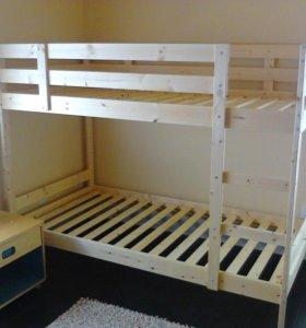 Кровать 2х ярусная ИКЕА