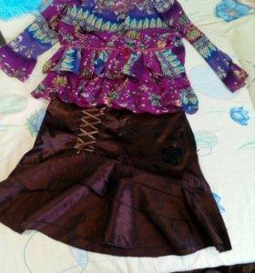 Юбка+ блуза