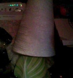 Лампа новая с абажуром