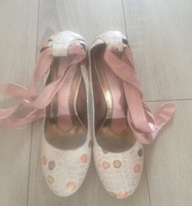 Туфли женские кожаные 39р.