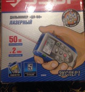 """ЗУБР дальномер """"ДЛ-50"""" Лазерный 50м"""