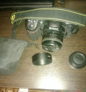 Объектив Nikkor 50mm AF f/1.8