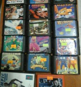Катриджи для Sega и других приставок