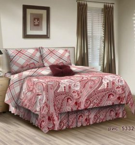 Комплект постельного белья-2 спальный-Бязь
