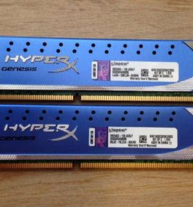 Kingston HyperX KHX1600C9D3K2/8GX