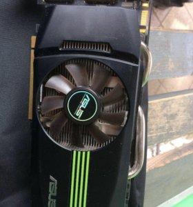 Мощная игровая видеокарта Asus GTX 460