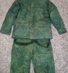 Зимний камуфлированный костюм