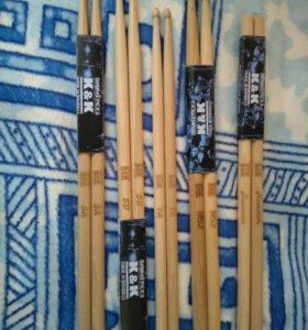 Барабанные палочки K&K