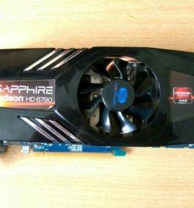 Видеокарта от AMD Sapphire Radeon HD 6790