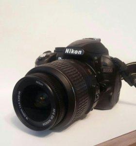Зеркальный фотоаппарат Nikon D3100 DX 18-55 VR (че