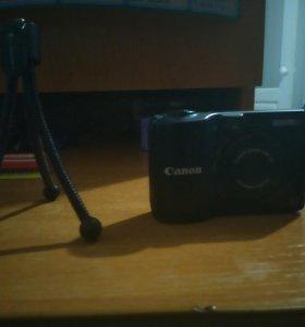 Фотоаппарат Canon с подставкой .Срочно !!!