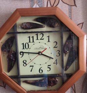 Часы кухонные.Новые.