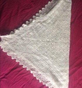 Пуховый платок (новый)