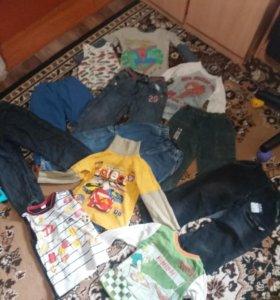 Вещи на мальчика 4 года