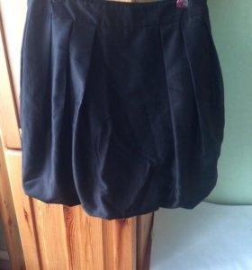 чёрная юбка ostin