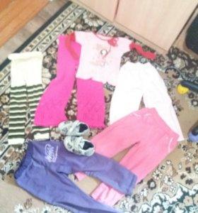 Вещи на девочку 5 лет
