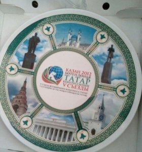 Большая сувенирная тарелка