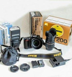 Nikon d7200 (комплект)