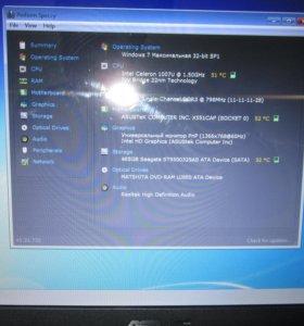 Ноутбук Asus X551C (2014)