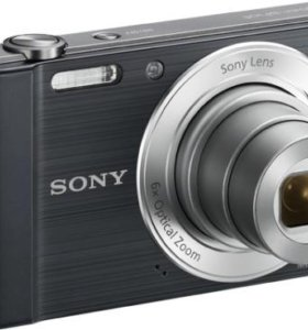 фотоаппарат SONY Cyber-shot DSC-W810 Black