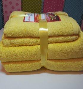 Подарочный набор полотенец, 4шт. Качество супер!