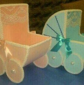 Коляски на свадьбу для даров