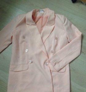 Жакет розовый новый