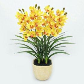Искусственные орхидеи цимбидиум