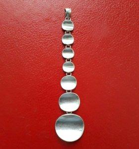 Подвеска серебро 925 пробы